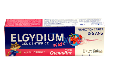 ELGYDIUM Dentifrice Protection Caries enfants 2-6ans tube 50ml