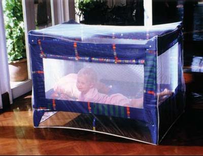 MOUSTIQUAIRE IMPREGNEE pour lit de bébé