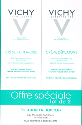 VICHY LOT2 CREME DEPILATOIRE DERMO-TOLERANCE