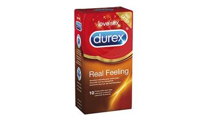 DUREX 10 PRESERVATIFS REAL FEELING