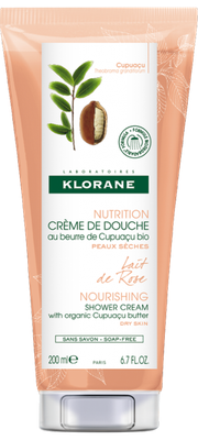 KLORANE CREME DOUCHE LAIT DE ROSE 200ML