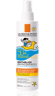 anthelios 50+ lait dermo pédiatrique spray 200ml