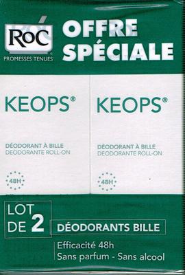 KEOPS LOT 2 DEOD BILLE SANS ALCOOL 30MLx2