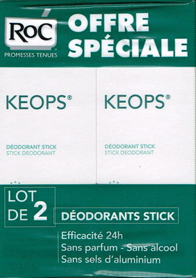 KEOPS LOT 2 DEOD STICKS DOUCEURS SANS ALCOOL