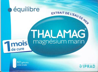 THALAMAG EQUILIBRE MAGNESIUM MARIN 60 GELULES