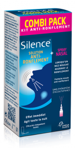 SILENCE COMBIPACK SPRAY GORGE & NEZ 50ML+15ML