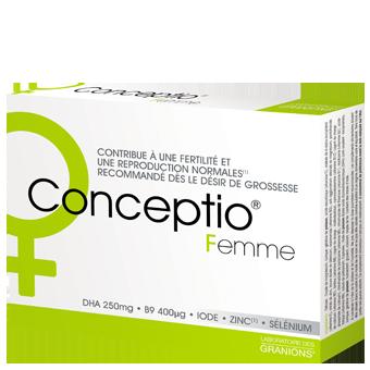 CONCEPTIO FEMME 30GELULES+30CAPSULES