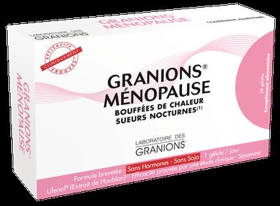 GRANIONS MENOPAUSE 28 GELULES