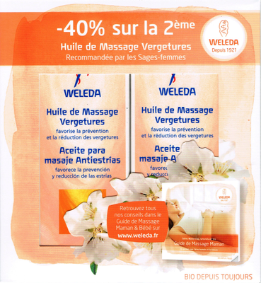 WELEDA VERGETURE PACK DUO 2x100ML