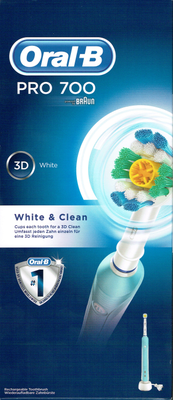 ORAL-B BDEN PRO700 3D WHITE AND CLEAN