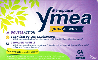 YMEA MENOPAUSE JR/NUIT 64 GELULES