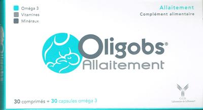 OLIGOBS ALLAITEMENT 30 CPR+ 30 CAPS OMEGA3