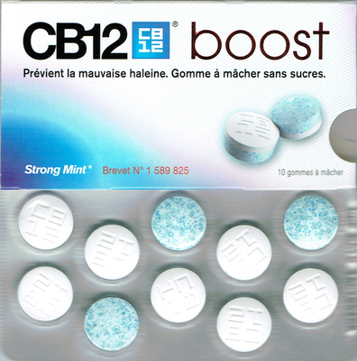 CB12 BOOST CHEWING GUM 10