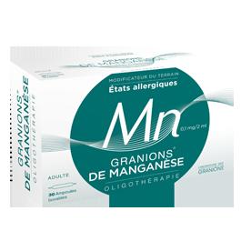 GRANIONS MANGANESE AMP BUV 2ML 30