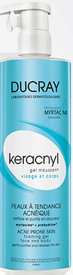 KERACNYL GEL MOUSS VIS/CORPS 400ML