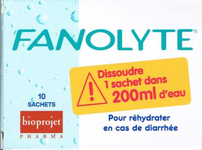 FANOLYTE PDR SACH 4,5G 10