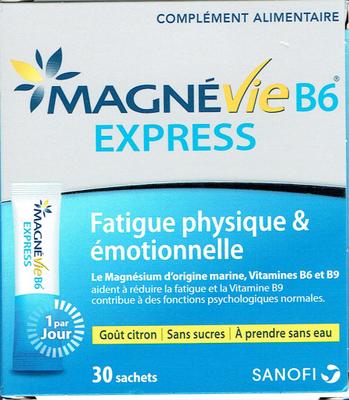MAGNEVIE B6 EXPRESS 30 SACHETS