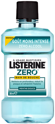 LISTERINE B/BOUC ZERO250ML