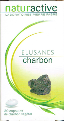 CHARBON ELUSANES CAPS 30