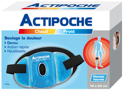 ACTIPOCHE COUS COLD GENOU 16X25