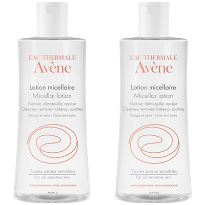 AVENE LOTION MICELLAIRE DEMAQUILLANTE 2x400ML