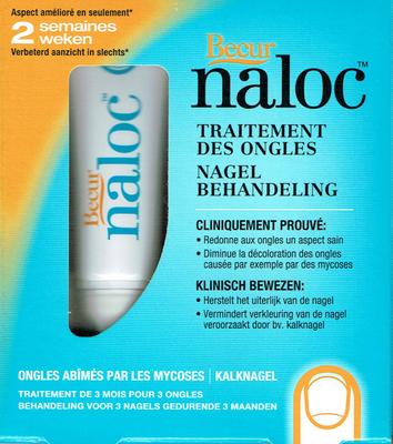 NALOC SOL ONGLE TUB 10ML