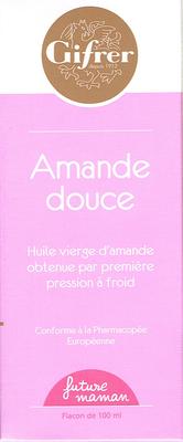 AMANDE DOUCE HUILE GIFRER 100ML