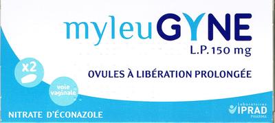 MYLEUGYNE LP 150MG OVULE 2