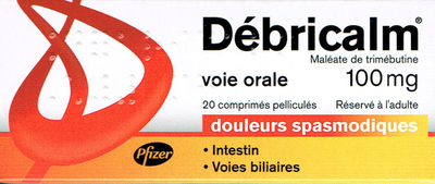 DEBRICALM 100MG CPR 20