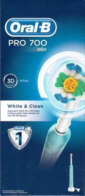 BDEN ORAL-B PRO 700 WHITE CLEAN