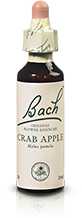 CRAB APPLE FL BACH ORIGINAL 20ML