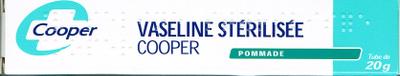 VASELINE STERILISEE COOPER TUBE 20G