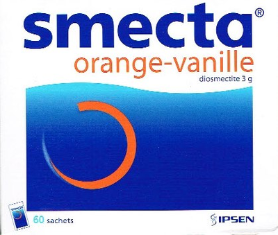 SMECTA 60 SACHETS ORANGE-VANILLE