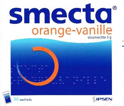 SMECTA 30 SACHETS ORANGE-VANILLE