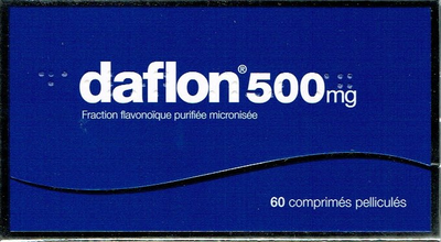 DAFLON 500MG CPR 60
