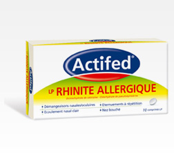 ACTIFED LP RHINITE ALLERG CPR10