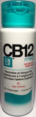 CB12 250ML MILD BAIN DE BOUCHE SOL