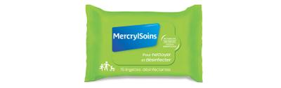 MERCRYLSOINS PACK15 LINGETTES