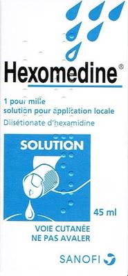 HEXOMEDINE 1 POUR MILLE FL 45ML