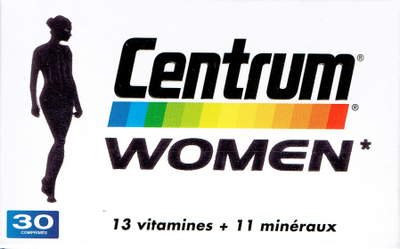 CENTRUM WOMEN 30 CPR
