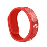 BRACEL PARAKITO A/MOUSTIQ GRAFFIC ROUGE