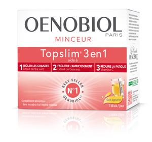 OENOBIOL TOPSLIM 3EN1 AGRUME 14 STICKS