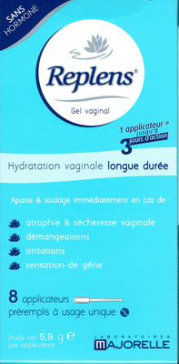 REPLENS GEL VAGINAL UNIDOS BT8