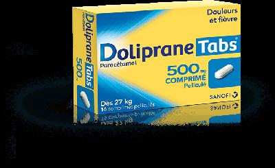 DOLIPRANE TABS 500MG 16 CPR PEL