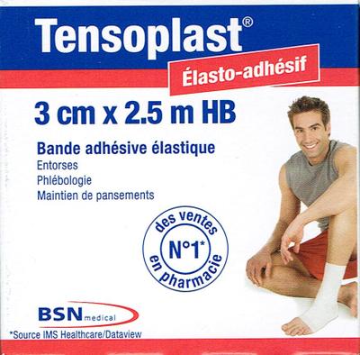 TENSOPLAST HB EX-ELASTOPLASTE 3CM