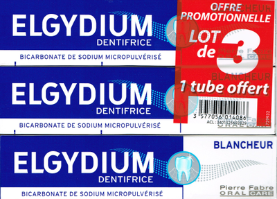 ELGYDIUM BLANCHEUR 3 TUB 75ML