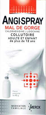 ANGISPRAY MAL/GORGE COLLUTOIRE 40G