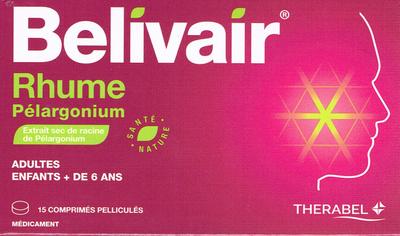 BELIVAIR RHUME PELARGONIUM 15 CP