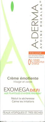 A-DERMA EXOMEGA CR EMOL DEFI 50ML