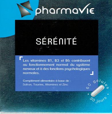 PHARMAVIE SERENITE 60 GELULES